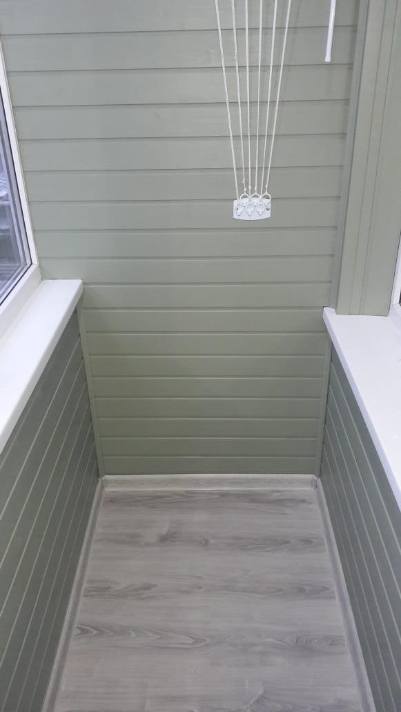 Древ 13 - пример работ по отделки балкона 02