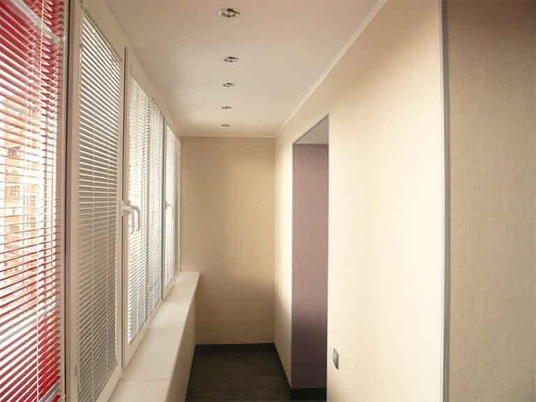 стены на балконе гипсокартоном