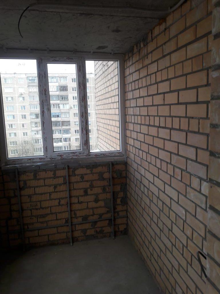 Пример отделки балкона - было до 6
