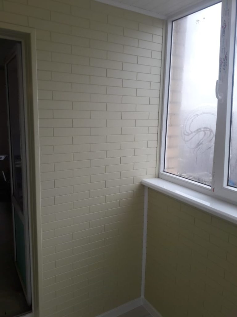 Пример отделки балкона - стало после 6