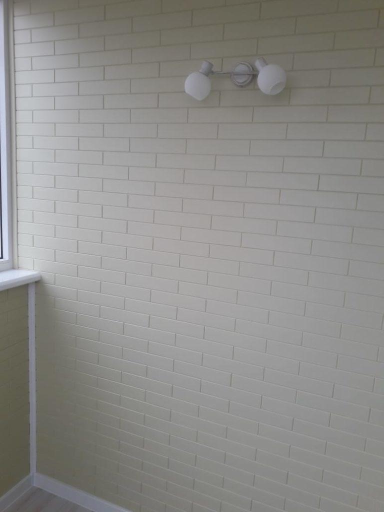 Пример отделки балкона - стало после 7