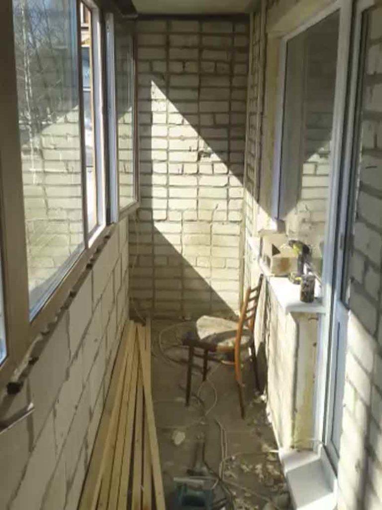 Пример отделки балкона1