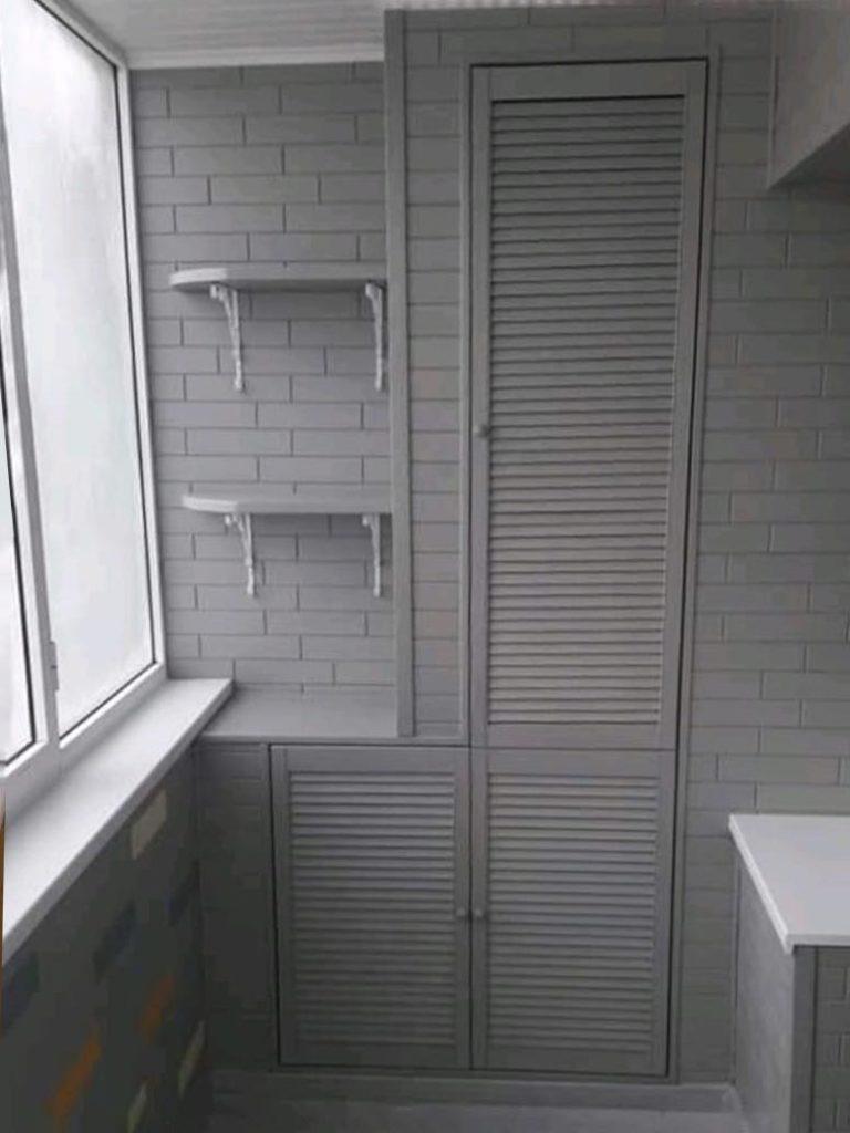 Отделка балкона Саранск