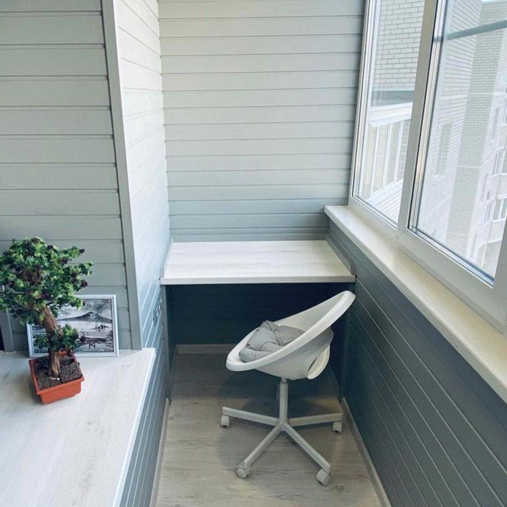 Установка столика на балконе, на лоджии в Саранске